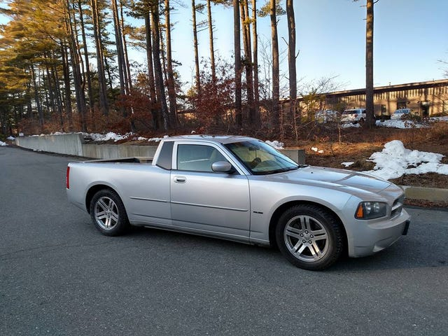 New Charger Ute Pics