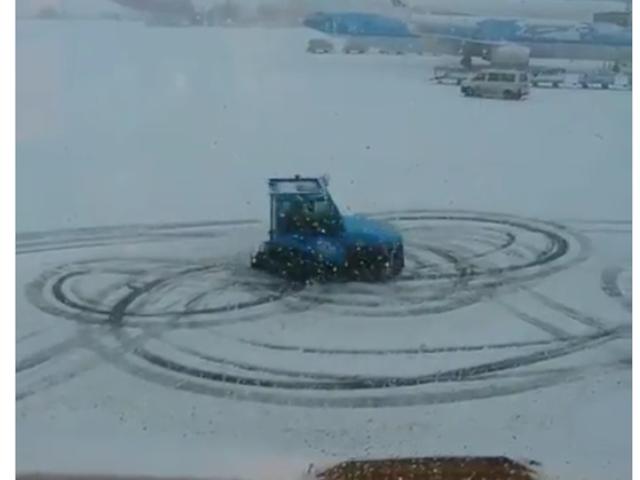 Snow + Airport Tug