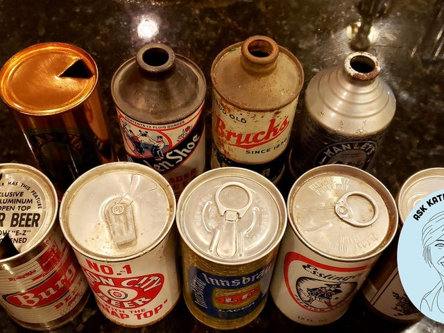 Ask Kate About Beer: When and why did breweries stop using pop-top cans?