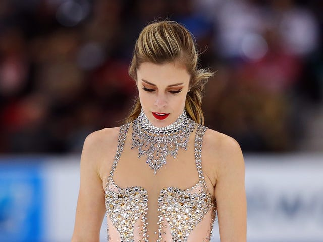 Ashley Wagner Adalah Furious