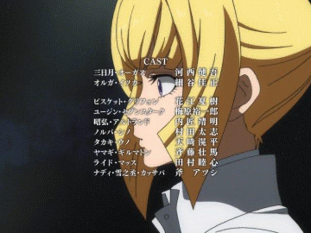 "<i>Gundam: Iron-Blooded Orphans Season 2</i> επεισόδιο 2 ""Εν τω μέση της ζήλια"" Εμφανίσεις"