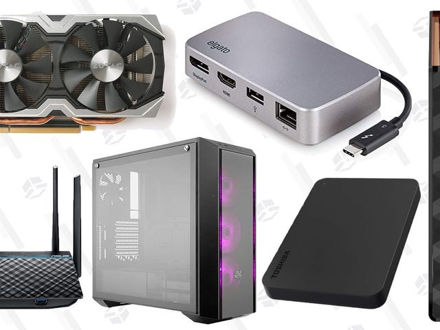 Amazon Kicks Off PC Deal Day With a Wide-Ranging Accessory and Component Sale