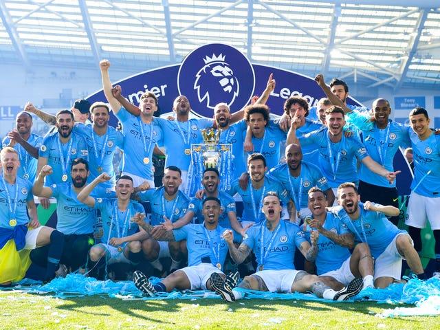 Ainda é a Premier League do Manchester City