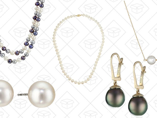 Amazon Has You Covered For Valentine's Day Gifts With This Pearl Jewelry Sale