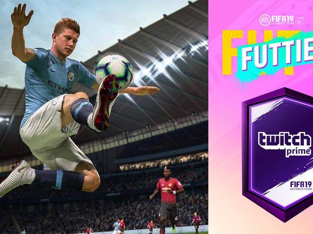 Amazon Prime obtido?  Você pode obter coisas grátis para FIFA 19
