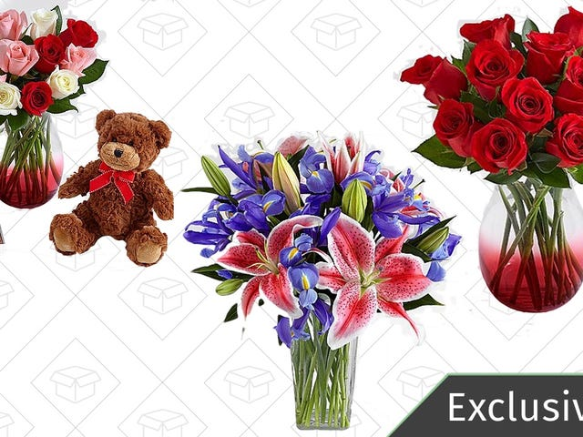 Get Your Valentine's Flowers In The Nick of Time With This Exclusive 25% Discount