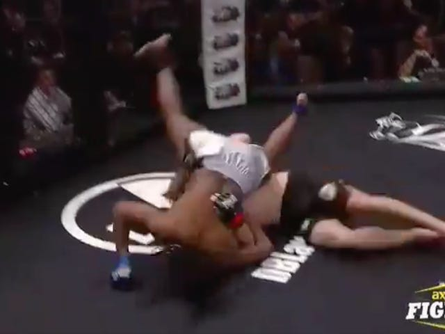 MMA Fighter Knocks Himself Out Trying To Throw His Opponent Down