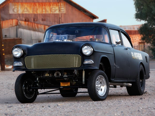 The Forza 7 Hooligan pack has a '55 Chevy Gasser