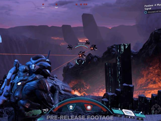 Tässä on <i>Mass Effect: Andromeda</i> näyttää