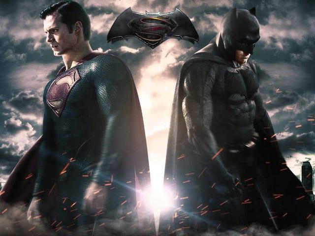 <i>Batman V. Superman</i>Might Be Split Into Two Films?