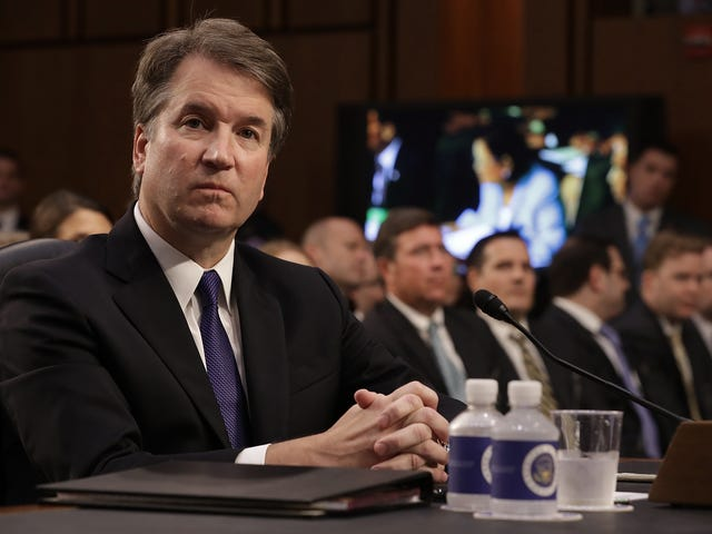 As New Accusations Emerge, It's Time for Brett Kavanaugh to Sit His Ass Down Somewhere