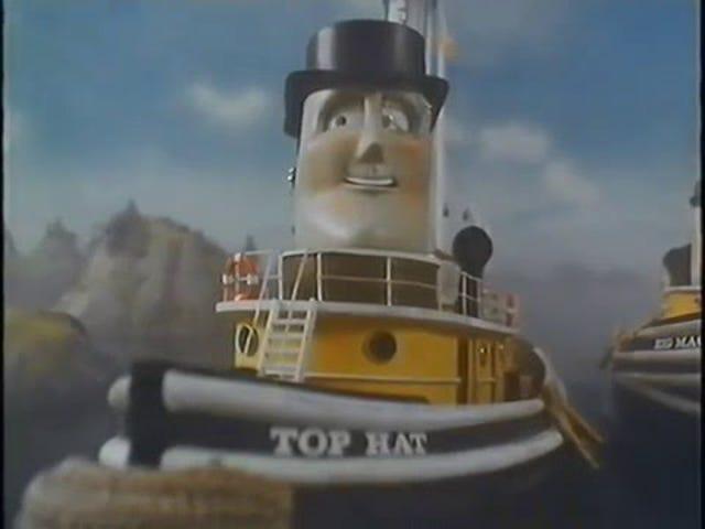 "I just binge-watched ""Tugs."""