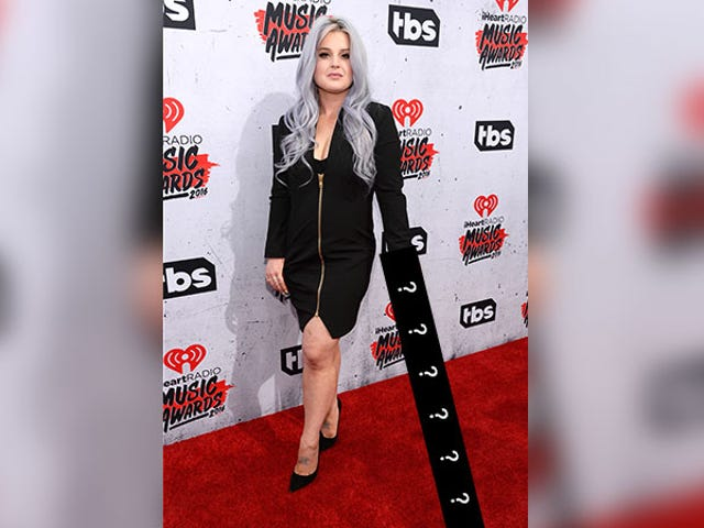 Can You Spot Kelly Osbourne's New Accessory?