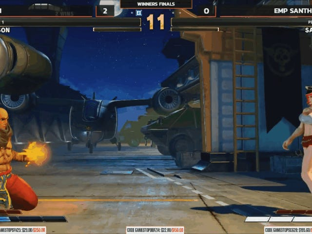 Witness The Most Excruciating Round Of Street Fighter V Ever