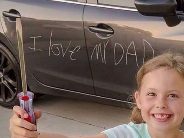 父親節快樂!向孩子展示一些愛!