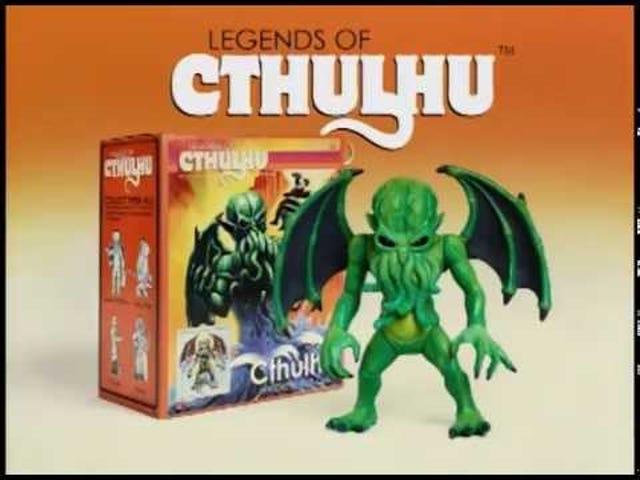 Cthulhu Plastik Berjumpa dengan Rampage dalam Final Fantasy Warpo Final <i>Legends of Cthulhu</i> Advert
