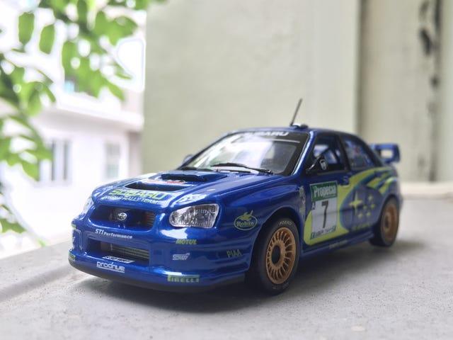 1:43 Subaru Impreza WRC '2003 чемпіон'