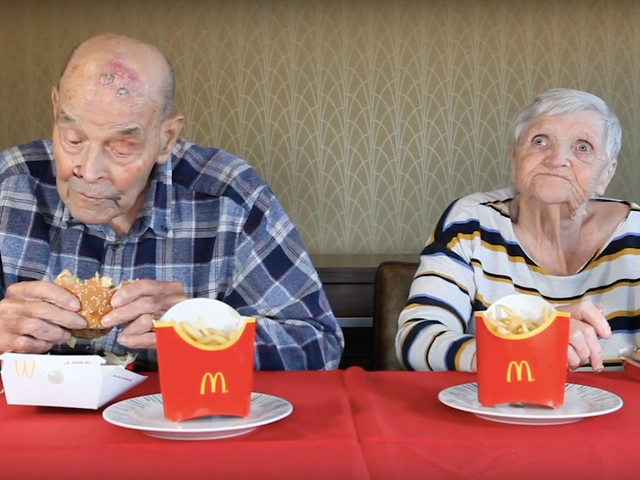 Last Call: What does a 99-year-old have to say about his first Big Mac?