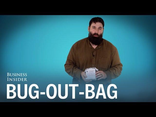 """De väsentliga föremålen som borde vara i varje """"Bug-Out Bag"""""""