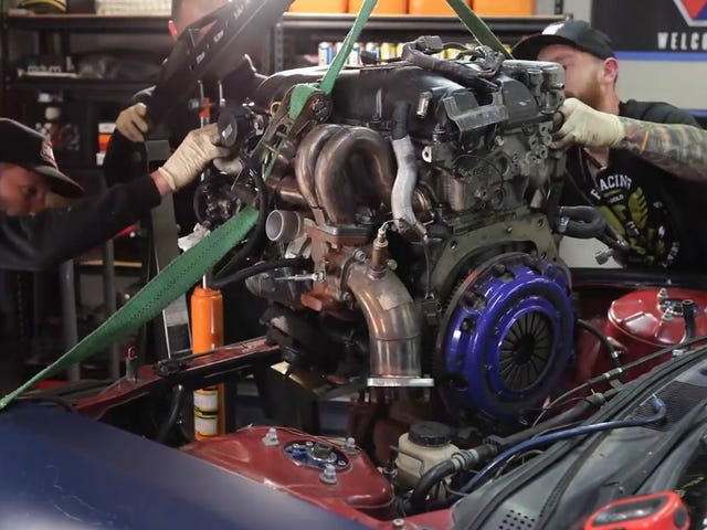 Two Tricks For Making An Engine Swap Easier