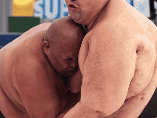 Super Slo-Mo Footage Reveals the Shockwaves When 1,000 Pounds of Sumo Wrestlers Collide