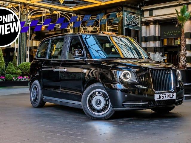 Jaka jest elektryczna taksówka londyńska