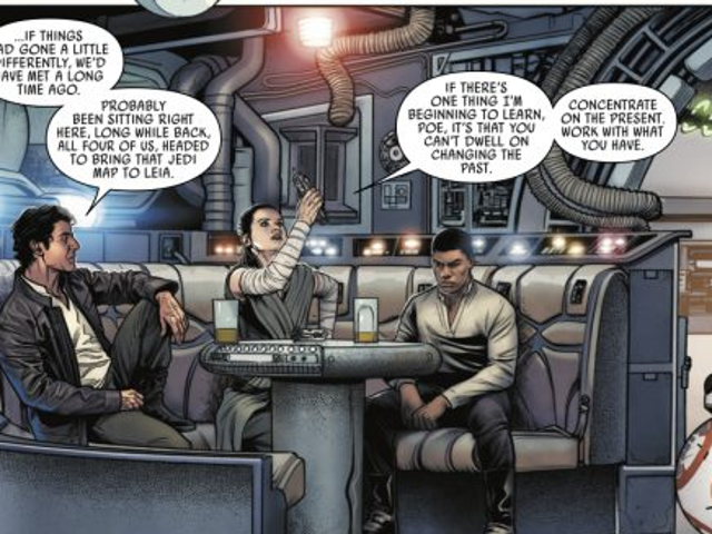 This Comic Shows the Bonding That Happens Right After the End of The Last Jedi