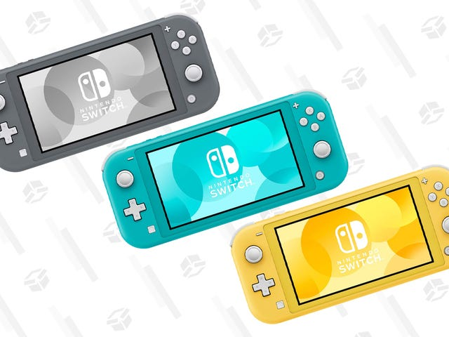 Pick Up a $25 Promotional Credit When You Buy a Nintendo Switch Lite from Amazon