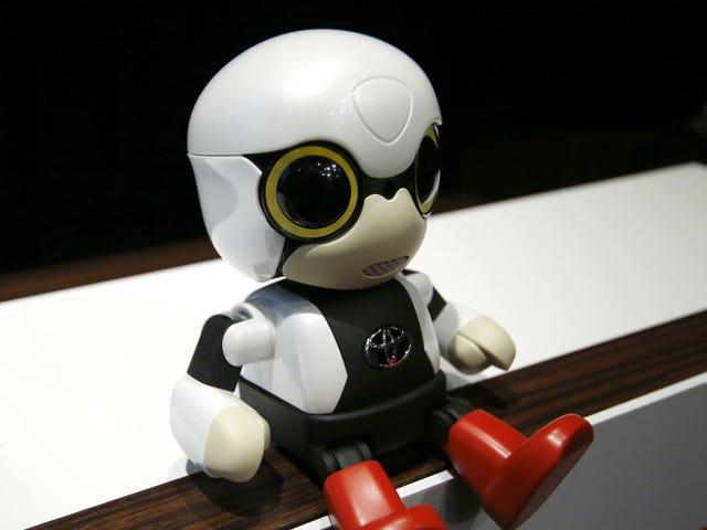 Toyota, Gerçek Bebekleri Değiştirmek İçin Robot Bebek Yaptı