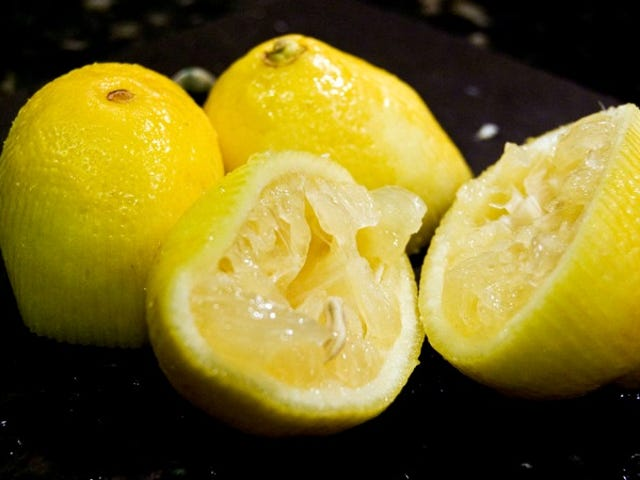 Cover Citrus Fruit With a Bit of Plastic Wrap for Mess-Free Squeezing