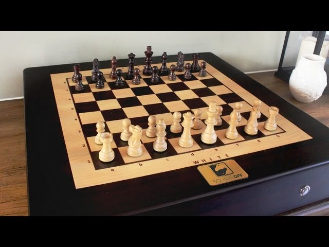 Square Off: The Magic Chess Board You Thought You'd Never Get
