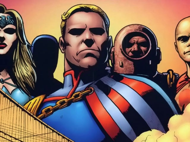 Several Superheroes Have Been Cast for Amazon's Adaptation of Garth Ennis'The Boys