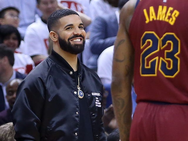 Report: NBA Tells Drake To Stop Cussing At The Game