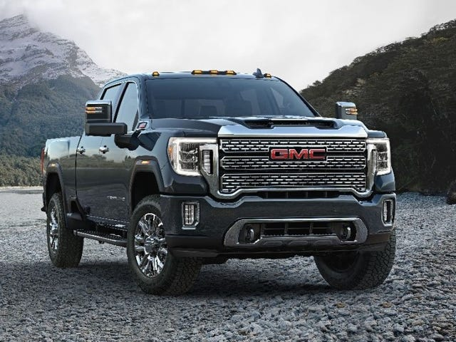 The 2020 GMC Sierra HD Adds Luxury and Loses That Face