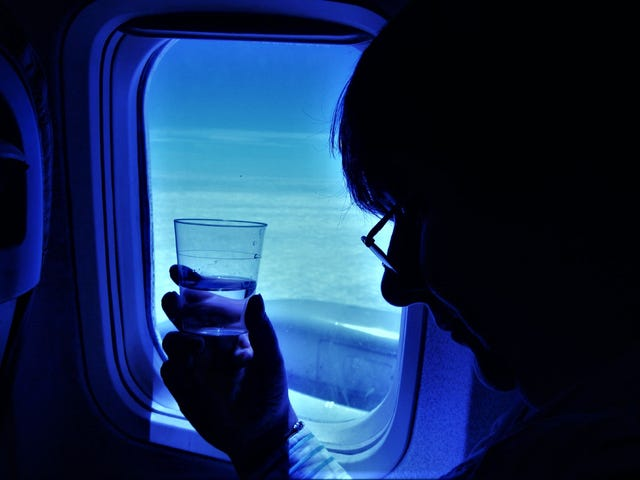 How to Keep Properly Hydrated on a Long Flight