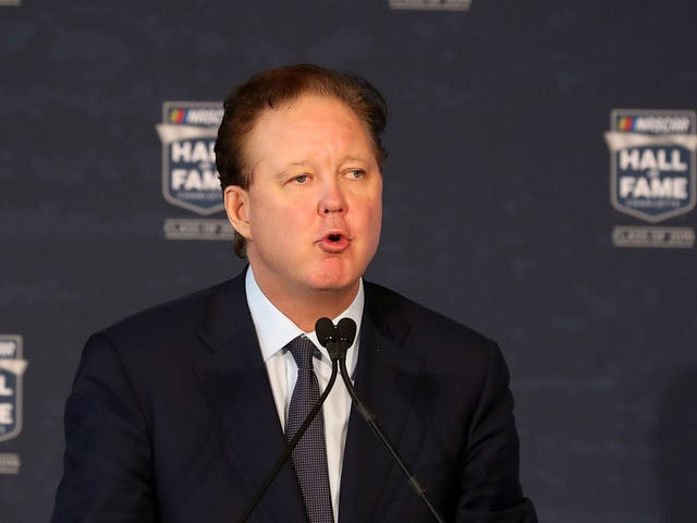 NASCAR CEO Arrested For DUI, Possession Of Oxycodone