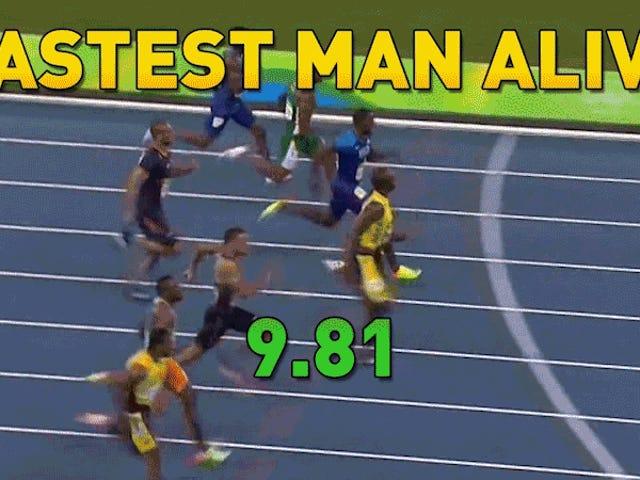 Usain Bolt continua sendo o homem mais veloz