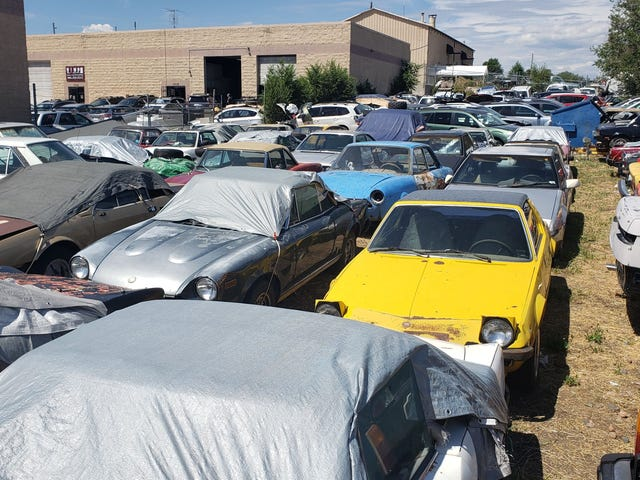Fiat Mechanic Passes Away and Now His Giant Collection Is Up for Sale