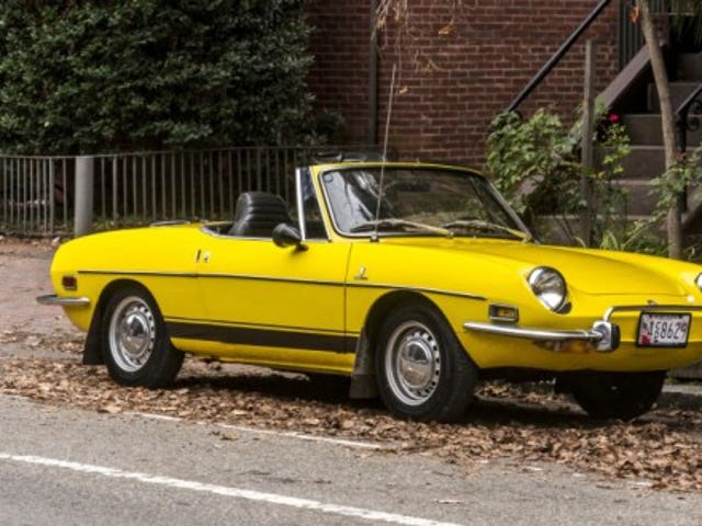 Fiat 850 spyder for rent on Turo