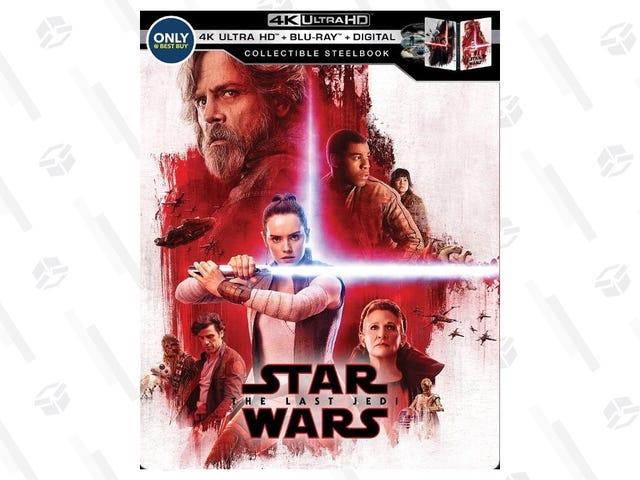 Rewatch The Last Jedi In 4K For a Few Bucks Off