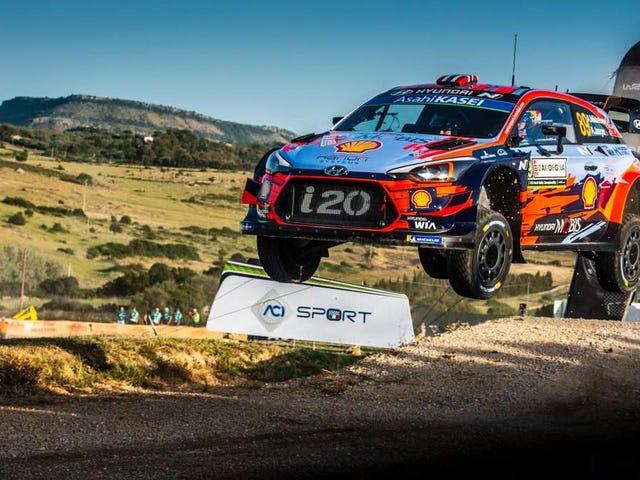 Zasady WRC oficjalnie przechodzą na Hybrid Power na 2022 sezon