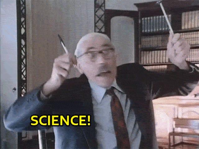 Dia Blinded Me dengan Sains