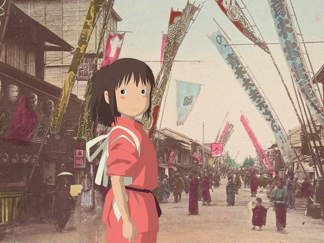 Kartu Pos 100 Tahun Dari Jepang Ini Seperti Bingkai Sempurna Dari Anime Miyazaki yang Hilang