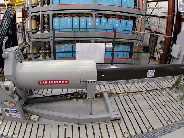 China May Be Testing a Ship-Mounted Railgun