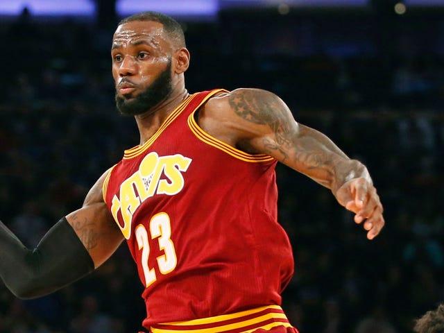 Para Cavs Dan Prajurit Ditekuk Pada Malam Terakhir NBA