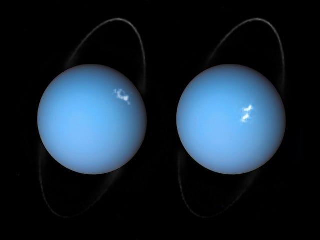 Uranüs'e Büyük Bir Smash Smash mı?