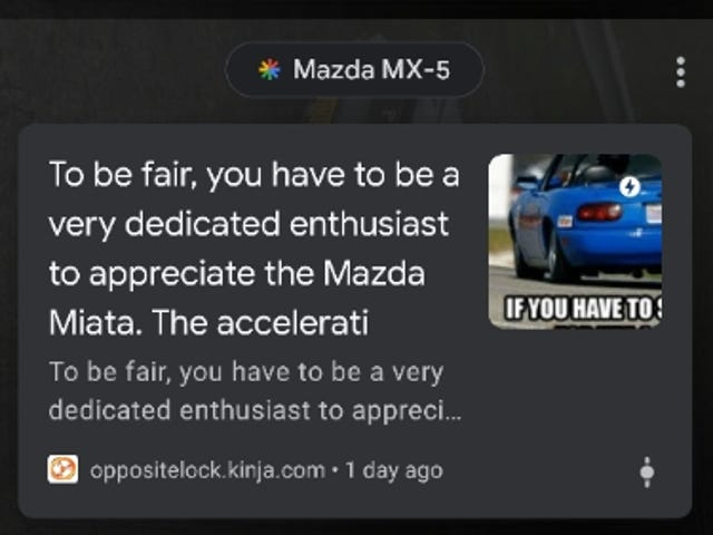 I Found out why that Miata Shitpost got so many views
