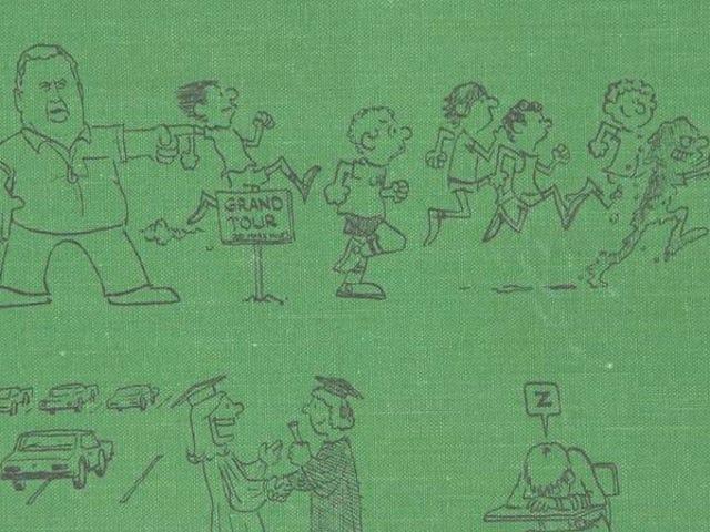 古い年鑑は、 Calvin And Hobbes芸術家ビル・ワターソンによる初期の絵を明らかにします