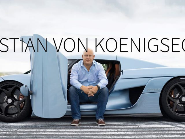 Christian Von Koenigsegg Specs His $1.9 Million Supercar Like His First Mazda Miata