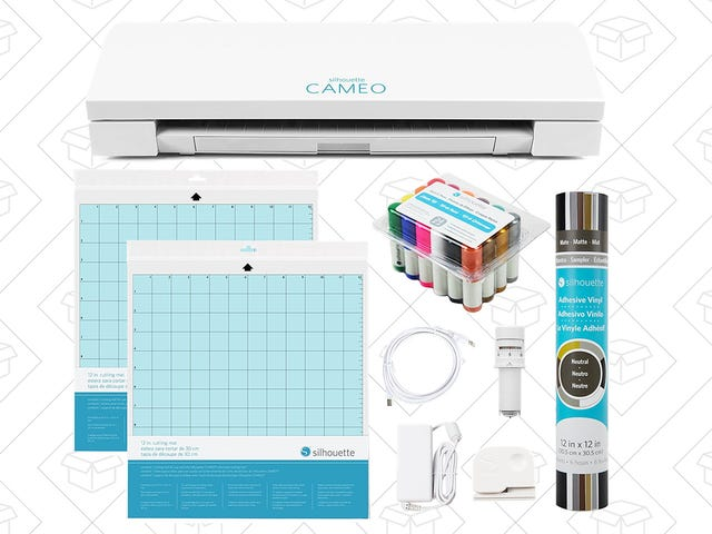 Is It Crafty in Here or Is It Just Amazon's Silhouette CAMEO 3 Craft Bundle?